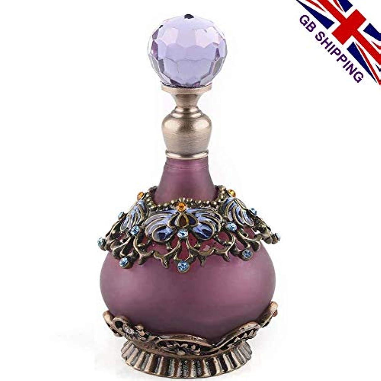 おもてなし逃げる時間厳守VERY100 高品質 美しい香水瓶 23ML アロマボトル 綺麗アンティーク風 プレゼント 結婚式 飾り 58798