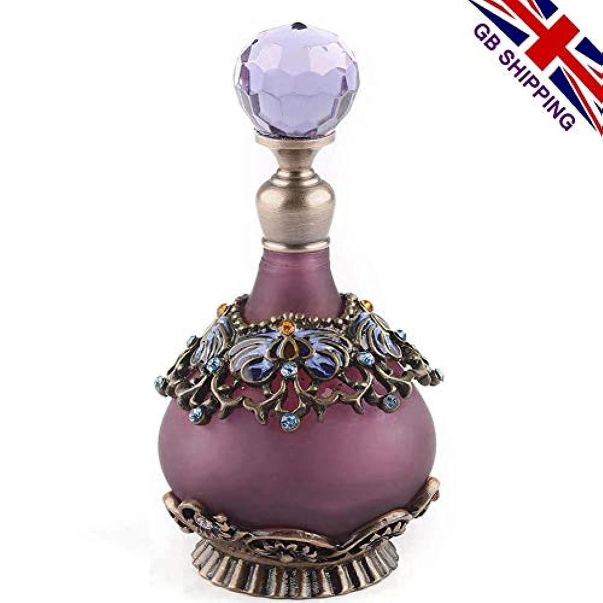 地元とらえどころのない参加するVERY100 高品質 美しい香水瓶 23ML アロマボトル 綺麗アンティーク風 プレゼント 結婚式 飾り 58798