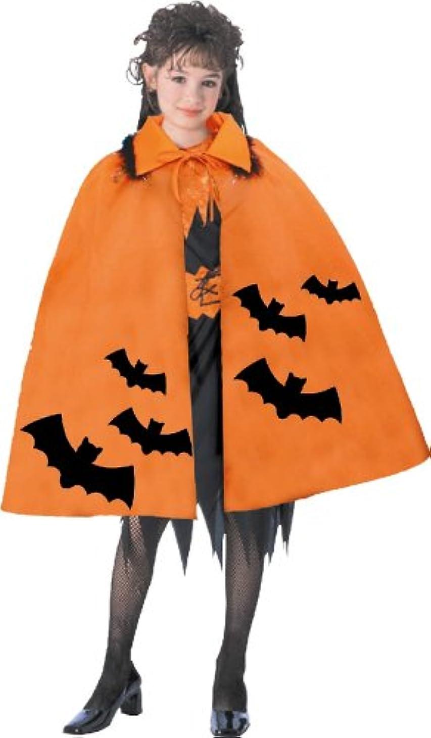 無法者療法違反バットケープ コスチューム用小物 オレンジ 男女共用 丈75cm