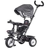 子供用三輪車、散歩用三輪車、手押し用三輪車を回すことができます ( Color : 3 )