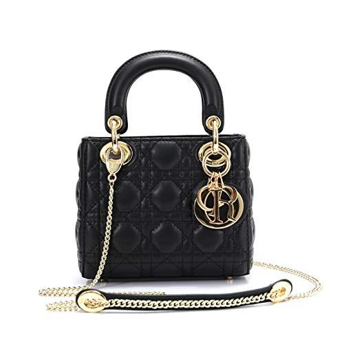 Dior(ディオール) M0505OADU ラムスキン LADY DIOR バッグ チェーン ミニバッグ [並行輸入品]