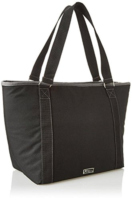 新しいLargeブラック断熱クーラートートバッグGrocery Shopping bag with iceパックコンボ