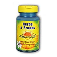 海外直送品Herbs & Prunes, 100 tabs by Nature's Life