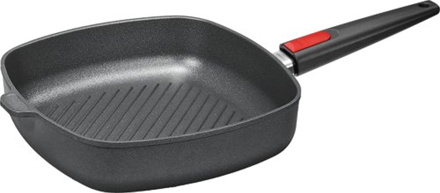 Woll Nowo 28 cm Square Griddle Pan with Detachable Handle