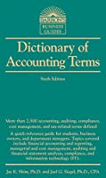 Dictionary of Accounting Terms (Barron's Business Dictionaries)