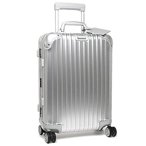 (リモワ) RIMOWA リモワ バッグ RIMOWA 923.52.00.4 TOPAS トパーズ 55CM 32L 1泊用 4輪 TSAロック スーツケース・キャリーバッグ SILVER [並行輸入品]
