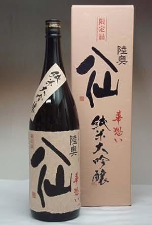 陸奥八仙 華想い40 純米大吟醸 1800ml
