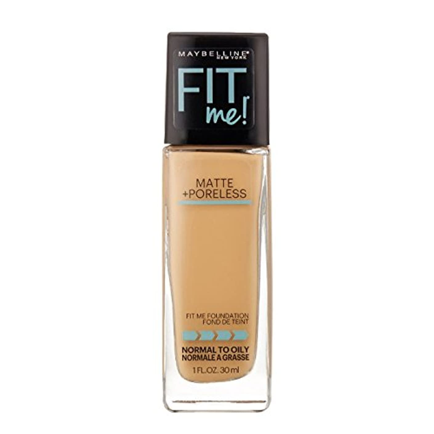 リム特異なサミュエル(3 Pack) MAYBELLINE Fit Me! Matte + Poreless Foundation - Natural Buff 230 (並行輸入品)