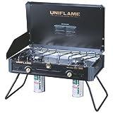 ユニフレーム(UNIFLAME) ツインバーナー US-1900 ブラック 610312