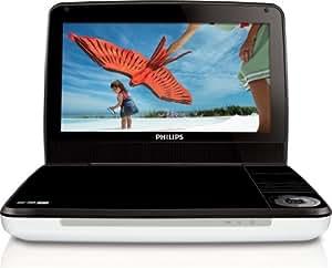 Philips フィリップス PD-9000 mdf-ver 多地域対応 リージョンフリー リージョン0-6 (PALとNTSC 自動対応) ワイド 9インチ TFT液晶 100V-240V 世界共通 ポータブルDVDプレーヤー プレミアム海外仕様