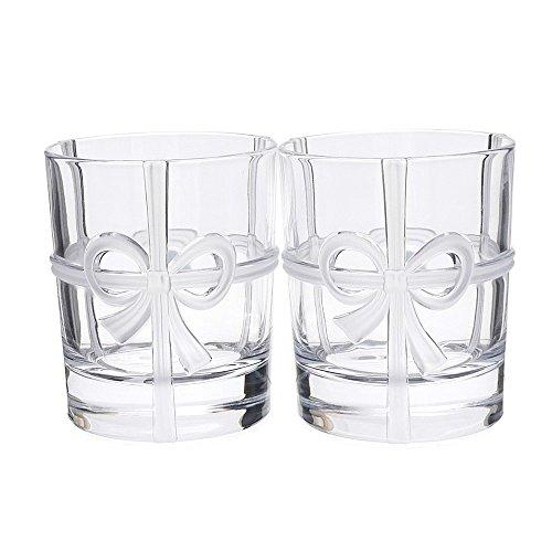 TIFFANY&CO.(ティファニー) ボウ グラス 2個セット CLEAR 290-004469-...