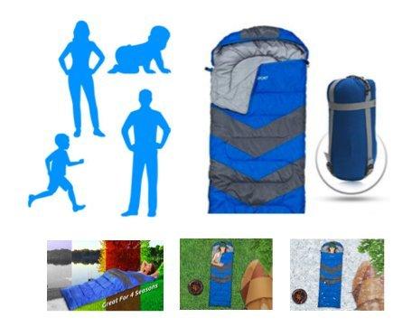【超万能寝袋 : スリーピングッド】災害対策 × 持ち運び簡単でオールシーズン使用可能 キャンプ 災害クッズ 寝袋