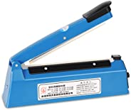 CHQ Tabletop Sealer, No Preheating Required, 8 Rank Adjustment, Poly Bag Sealing/Kraft Paper Bag/Aluminum Bag,