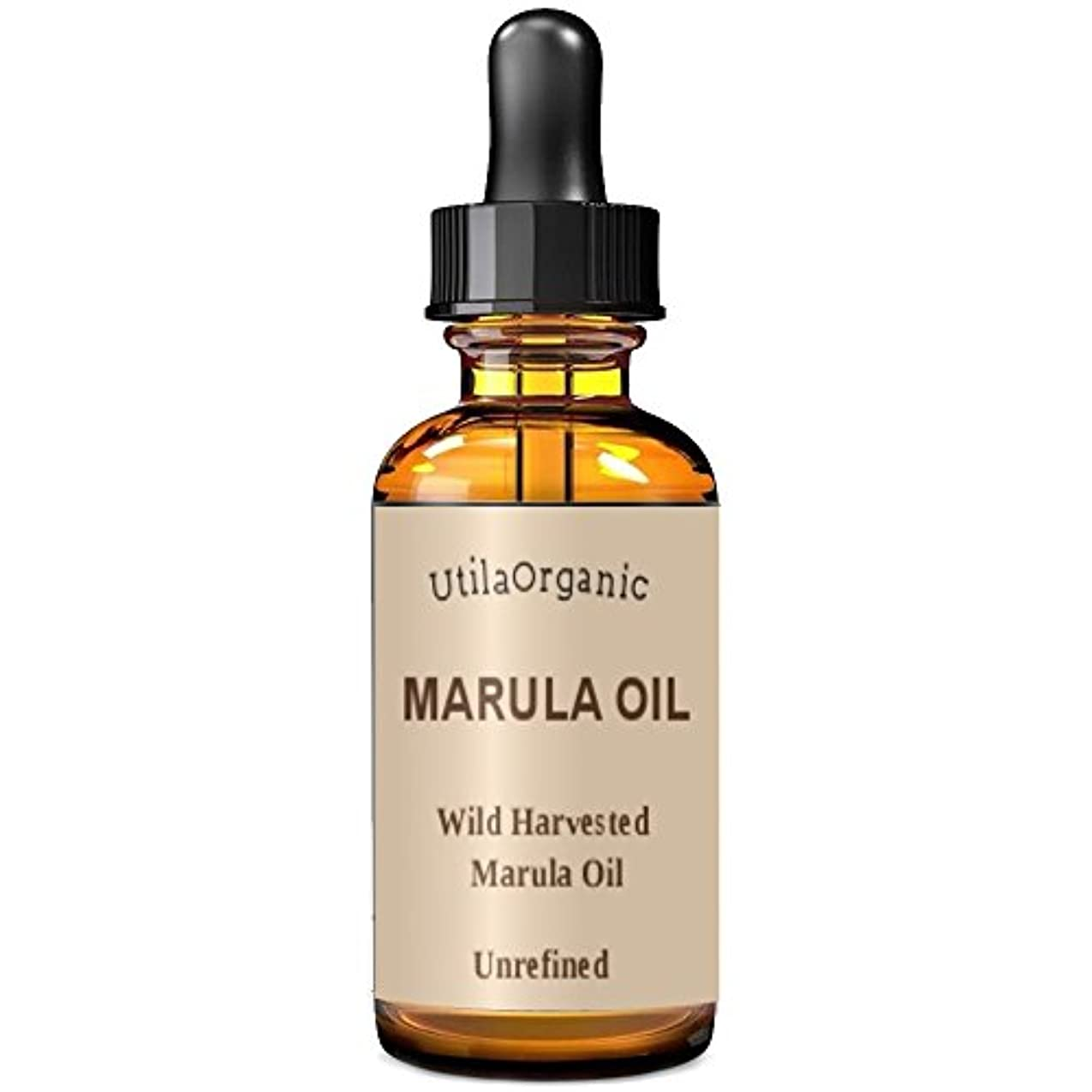 ベースロックこしょう未精製 マルラオイル 60ml Marula Oil 100% pure and natural 【並行輸入品】