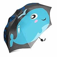 hunanhai折り畳み傘防風頑丈、ポータブル37.4インチx 11.42インチ