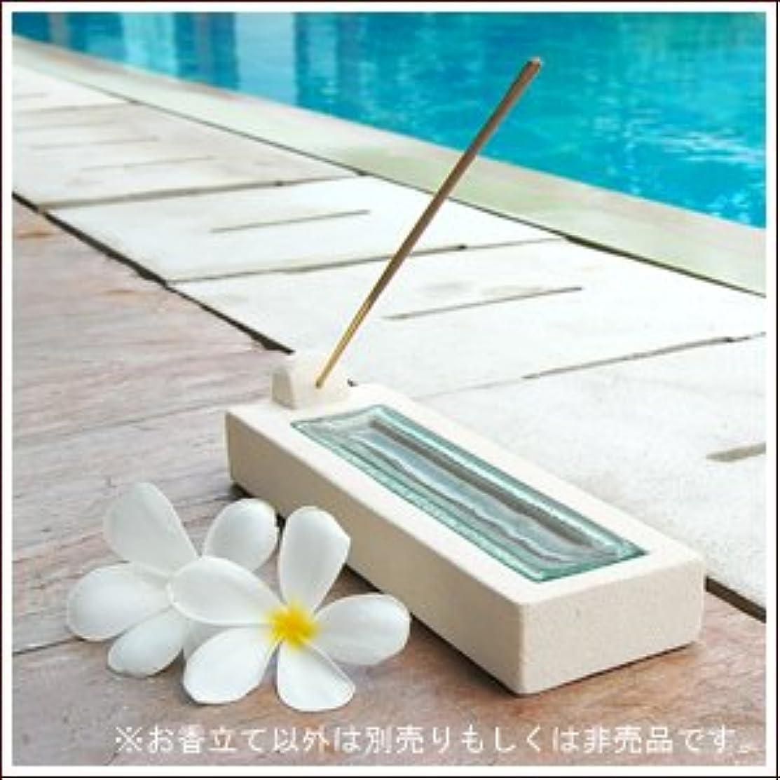 【アジア工房】ホワイトパラス石とガラスの涼しげなお香立て[3741] [並行輸入品]