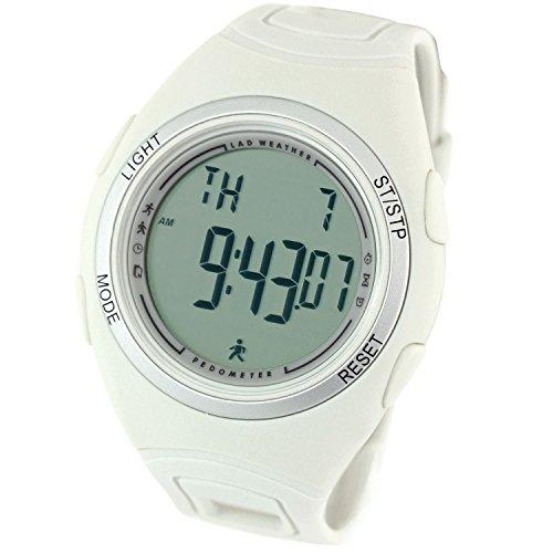 [LAD WEATHER]ラドウェザー腕時計 ウォーキング/ジョギング/ランニング 3D歩数計/消費カロリー/走行距離/計測 メンズ時計 クールグレー