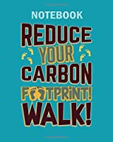 Notebook: earth day climate change - 50 sheets, 100 pages - 8 x 10 inches