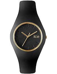 [アイスウォッチ]ICE WATCH メンズ レディース ユニセックス アイス グラム 43ミリ ブラック×ゴールド ICE.GL.BK.U.S.13 腕時計 [並行輸入品]