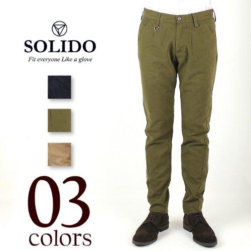 IDRO MEN'S SLIM PANTS ソリード イドロ メンズ スリムパンツ MSL11A535 (3color) ソリード