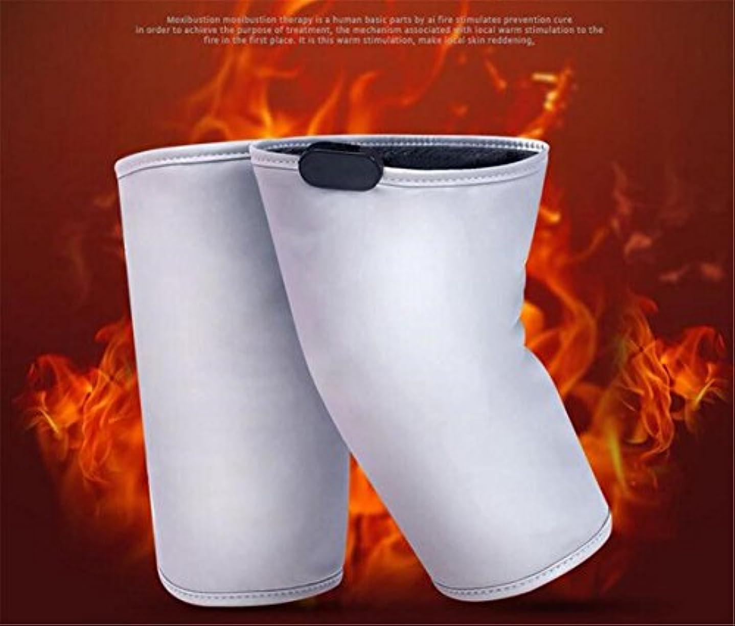 メッシュ病弱カニELEGENCE-Z電気加熱膝パッド中高年マッサージ熱い圧縮灸暖かい電荷共同理学療法器