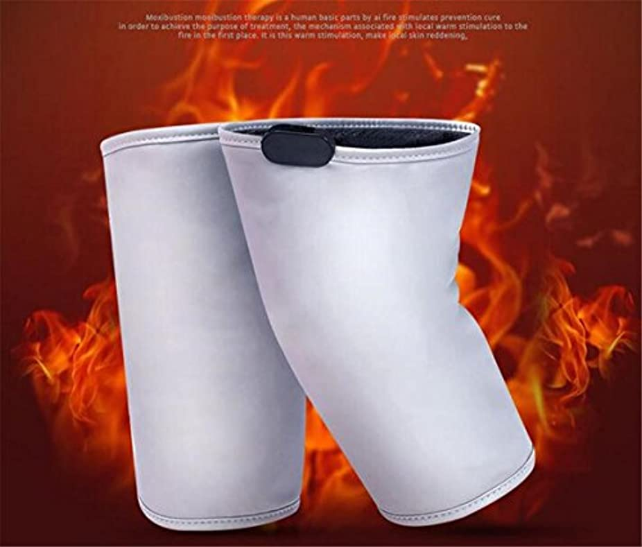 ベイビーなめらかな浸食ELEGENCE-Z電気加熱膝パッド中高年マッサージ熱い圧縮灸暖かい電荷共同理学療法器