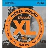 D'Addario ダダリオ EXL-110 Regular Light(10-46) EXL110 エレキギター弦【国内正規品】
