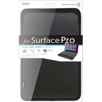 マイクロソフト Surface Pro 2 / Surface Pro 用 スリップインケース ブラック TBC-SFP1303BK