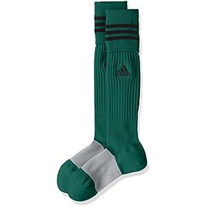 (アディダス) adidas サッカーウェア 3ストライプ ゲームソックス MKJ69 [ユニセックス] BS2870 カレッジエイトグリーン/ブラック 22-24cm