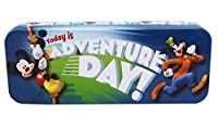 Disney 's Mickey Mouse and Goofy今日はAdventure Tin日鉛筆ボックス
