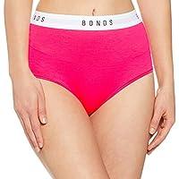 Bonds Women's Underwear Cotton Blend Originals Hi Top Brief