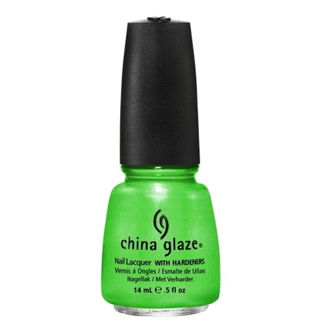 したいバンドル注入するCHINA GLAZE Summer Neon Polish - I'm with the Lifeguard