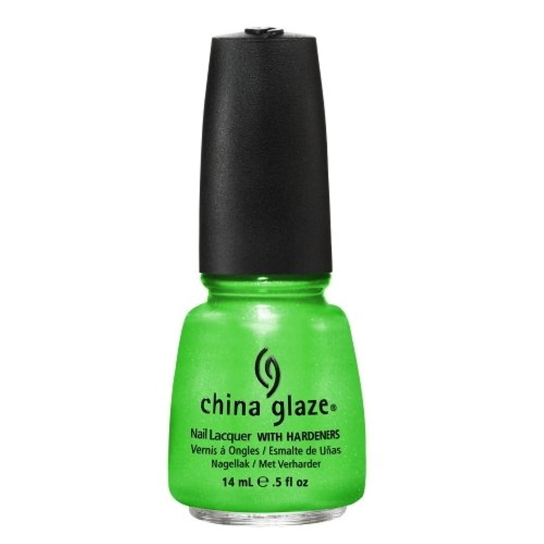 抽象豊富酸化するCHINA GLAZE Summer Neon Polish - I'm with the Lifeguard