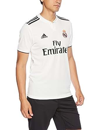 [アディダス] サッカー レアル・マドリード ホーム レプリカ ユニフォームシャツ ENO34 [メンズ] DH3372 コアホワイト/ブラック (DH3372) 日本 O (日本サイズ2L相当)