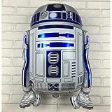 ★新品★特大68×43cm!StarWars/スターウォーズ R2-D2☆バルーン(風船)お部屋の装飾 パーティーグッズ 誕生日プレゼント 子供 クリスマス