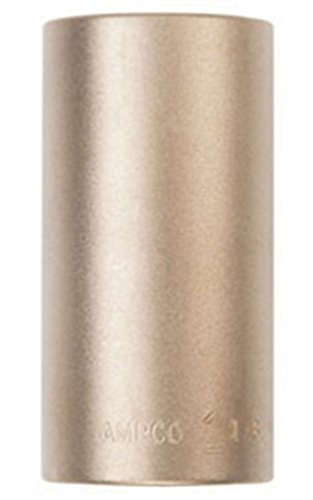 Ampco Safety Tools DW-3/8D18MM Socket Deep Well Non-Sparking Non-Magnetic Corrosion Resistant 3/8 Drive 18 mm [並行輸入品]