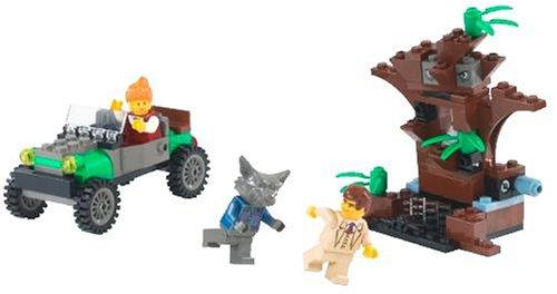 レゴ (LEGO) スタジオ 狼男のアタックシーン 1380