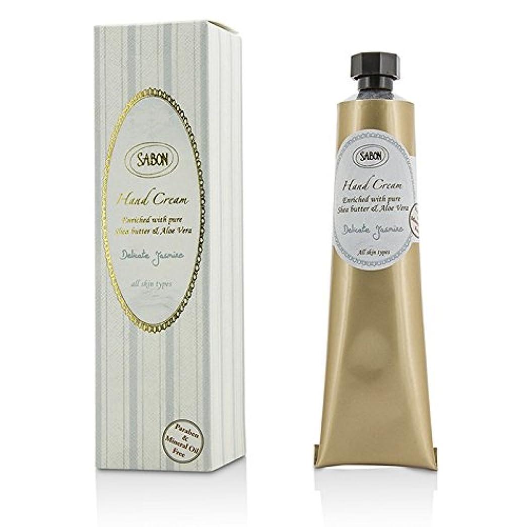 コーラス簡単に怒りサボン Hand Cream - Delicate Jasmine (Tube) 50ml/1.66oz並行輸入品