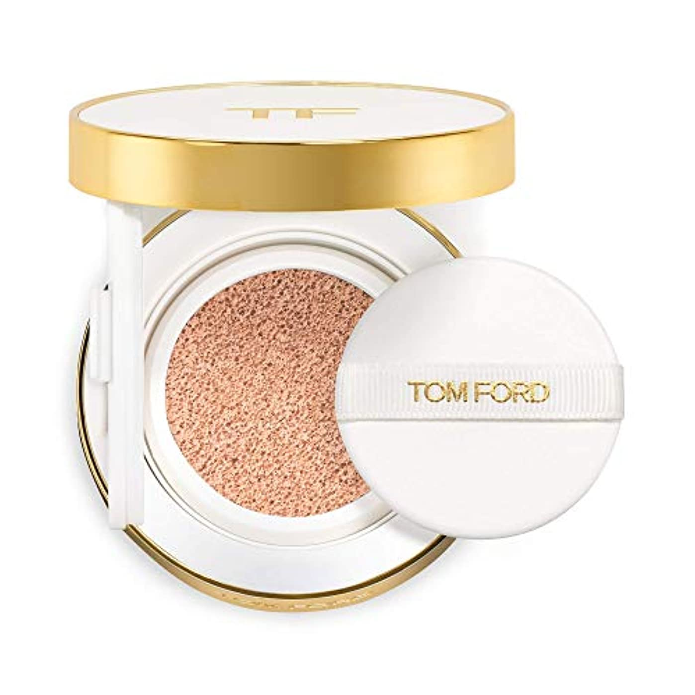 私フィヨルド一般的なトム フォード Soleil Glow Tone Up Hydrating Cushion Compact Foundation SPF40 Refill - # 0.5 Porcelain 12g/0.42oz並行輸入品