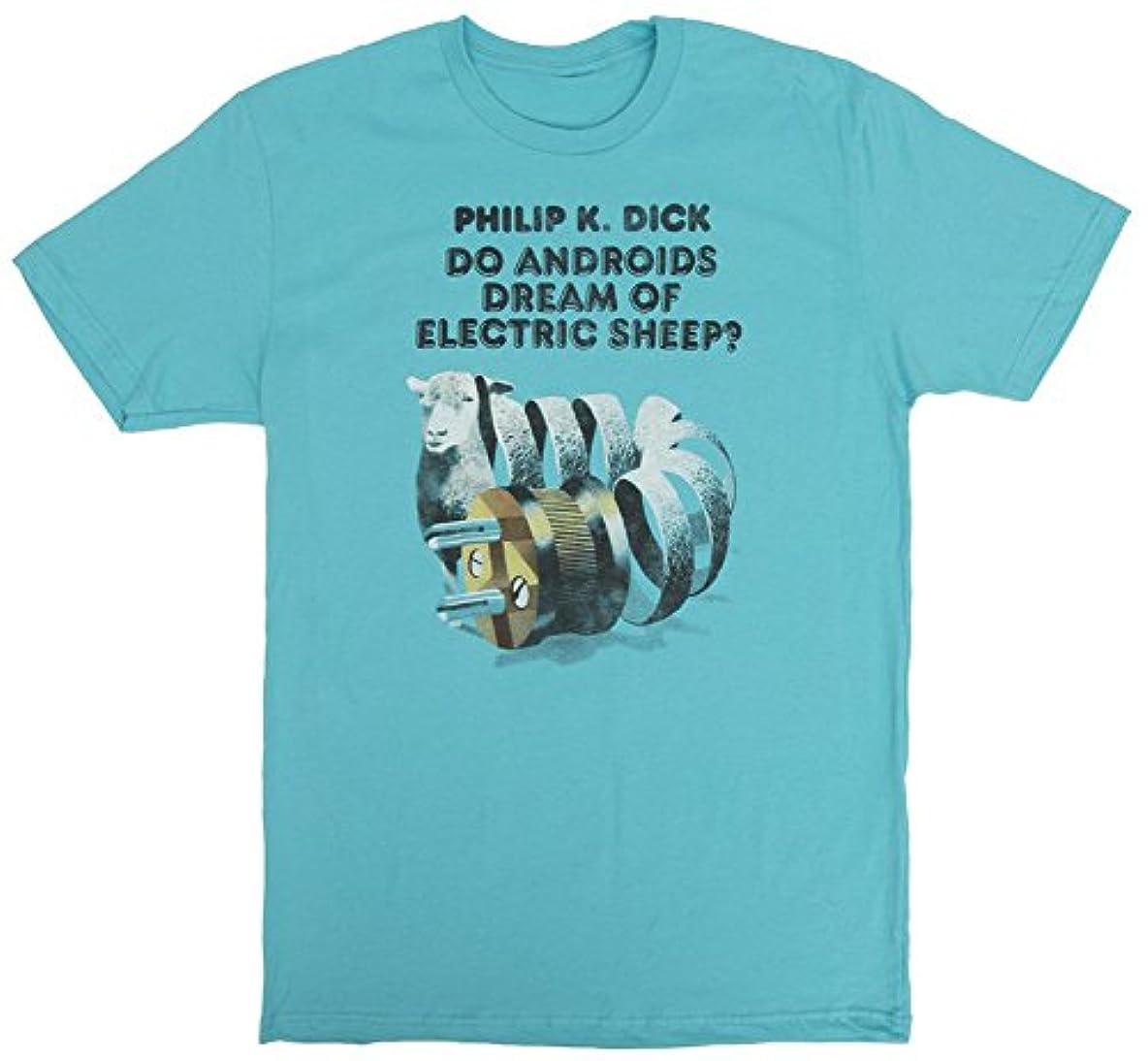 支払い叙情的な矛盾【Out of Print】 Philip K. Dick / Do Androids Dream of Electric Sheep? Tee (Tahiti Blue)