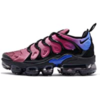 Nike Women's W Air Vapormax Plus, BLACK/BLACK-TEAM RED