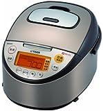 タイガー IH炊飯器 tacook IH 1升 ブラウン JKT-R180-T