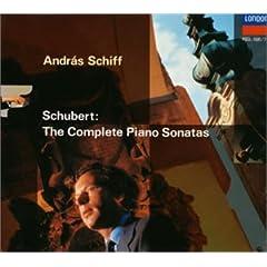 アンドラーシュ・シフ独奏 シューベルト : ピアノ・ソナタ全集の商品写真