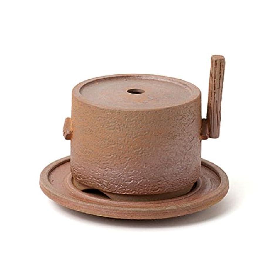 ウォーターフロント銅がっかりする松栄堂 ひき臼香炉 (コーン?スティック?渦巻) 【香炉】
