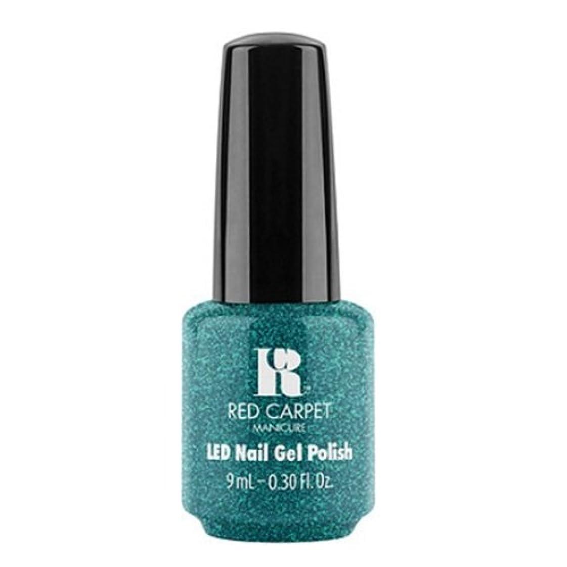 軽食不正確舗装するRed Carpet Manicure - LED Nail Gel Polish - Penthouse Please! - 0.3oz / 9ml
