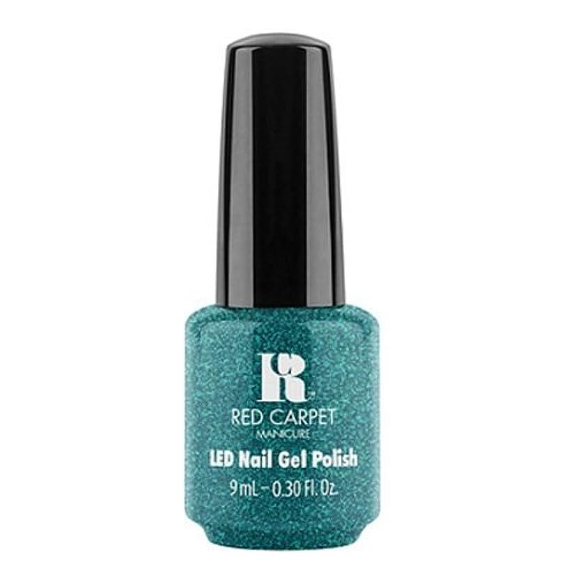カップル軍音楽Red Carpet Manicure - LED Nail Gel Polish - Penthouse Please! - 0.3oz / 9ml