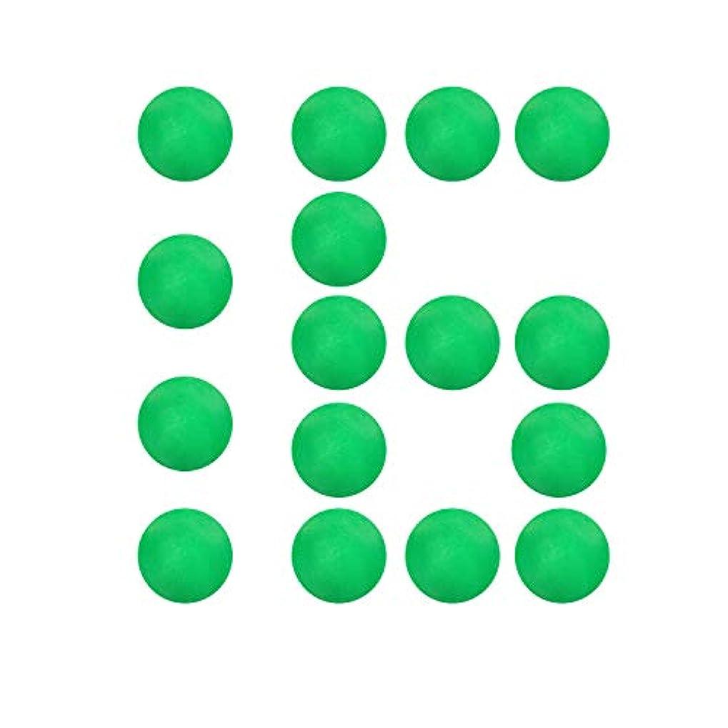 民間村仮称Novcolxya パワーポッパー 詰め替え 16個の柔らかいフォームボール、直径約1.2インチ、ポッパー詰め替えボールグリーン