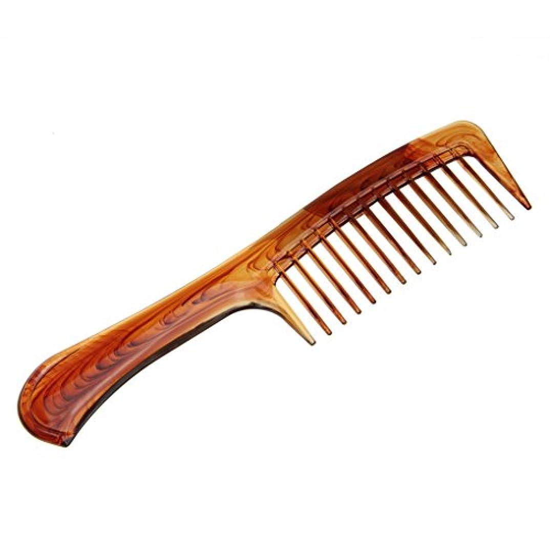 練習説明的オートマトンヘアくし 櫛 コーム 天然琥珀 静電気 防止 通りやすい 荒目 くし 頭皮マッサージ 美髪コーム 軽量 プラスチック 携帯に便利 男女兼用 くし 人気 贈り物 プレゼント B型
