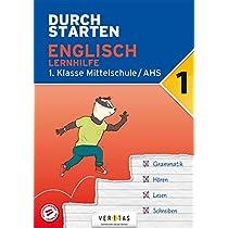 Durchstarten 1. Klasse - Englisch AHS/ BHS - Lernhilfe: Uebungsbuch mit Loesungen