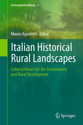 Italian Historical Rural Landscapes: Cultural Values for the Environment and Rural Development (Environmental History)